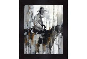 Picture-Man On A Horse 30X36