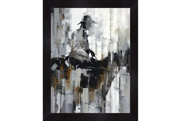 Picture-Man On A Horse 36X46
