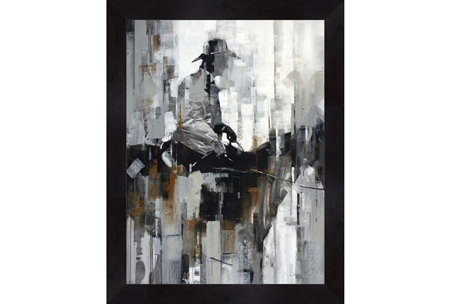 Picture-Man On A Horse 36X46 - 360