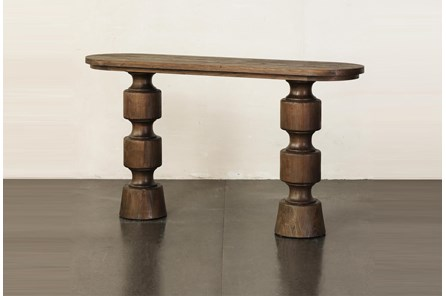 Architectural Elm Sofa Table