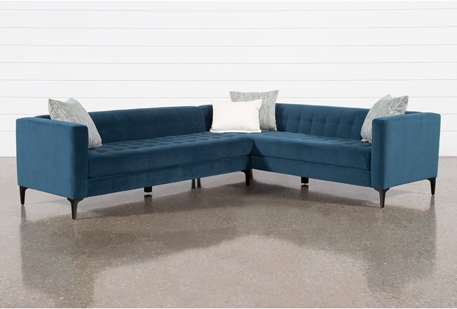 Anson III 2 Piece Sectional With Left Arm Facing Sofa - 360