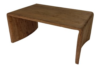 Natural Gmelina Wood Waterfall Coffee Table