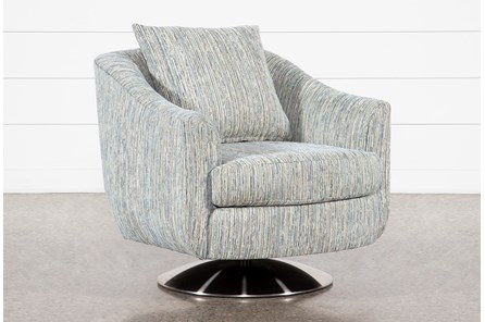 Anson III Swivel Accent Chair