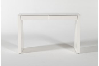 "Vember White 48"" Desk"