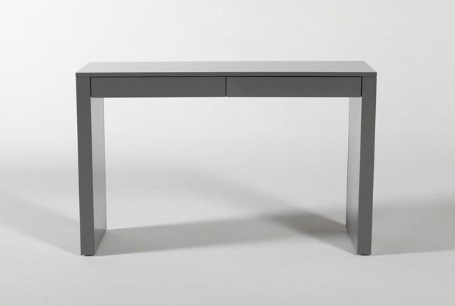 """Vember Grey 48"""" Desk - 360"""
