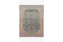 65X90 Rug-Magnolia Home Graham Blue/Persimmon By Joanna Gaines