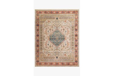 """2'3""""x4' Rug-Magnolia Home Graham Persimmon/Antique Ivory By Joanna Gaines"""
