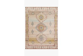 """6'6""""x9'6"""" Rug-Magnolia Home Graham Antique Ivory/Multi By Joanna Gaines"""