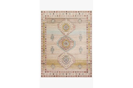 94X120 Rug-Magnolia Home Graham Antique Ivory/Multi By Joanna Gaines