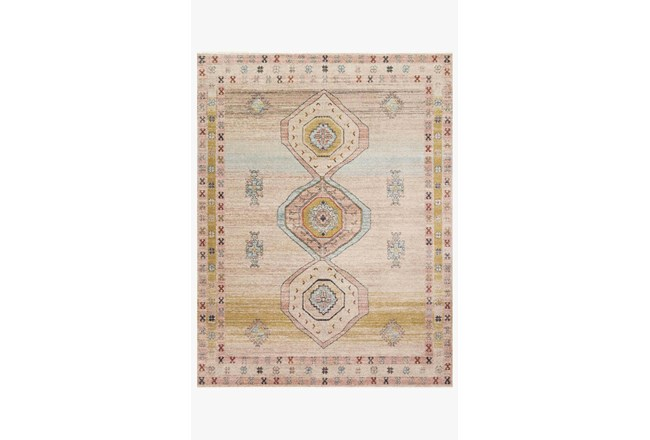 94X120 Rug-Magnolia Home Graham Antique Ivory/Multi By Joanna Gaines - 360
