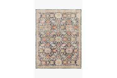 """2'3""""x7'5"""" Rug-Magnolia Home Graham Blue/Multi By Joanna Gaines"""