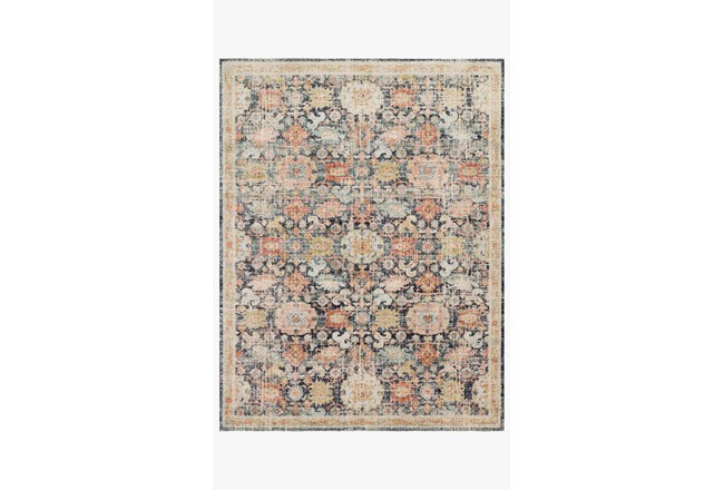 48X72 Rug-Magnolia Home Graham Blue/Multi By Joanna Gaines - 360
