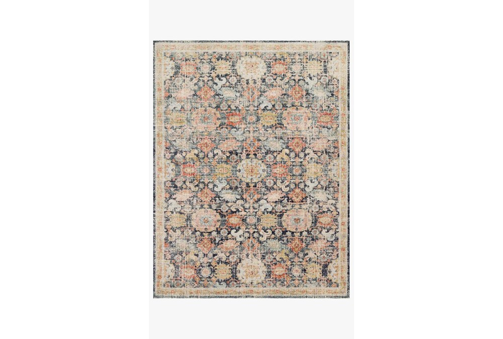 94X120 Rug-Magnolia Home Graham Blue/Multi By Joanna Gaines