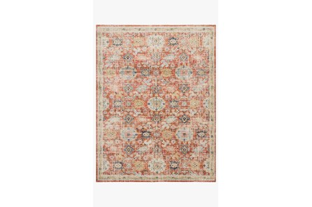 48X72 Rug-Magnolia Home Graham Persimmon/Multi By Joanna Gaines