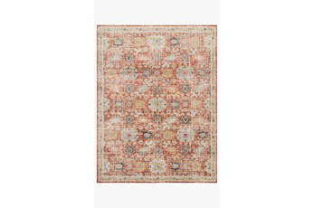 79X115 Rug-Magnolia Home Graham Persimmon/Multi By Joanna Gaines