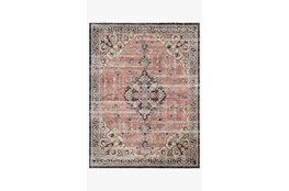 48X72 Rug-Magnolia Home Graham Coral/Navy By Joanna Gaines