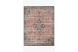 """7'8""""x10' Rug-Magnolia Home Graham Coral/Navy By Joanna Gaines"""