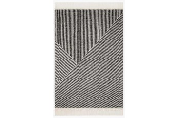 "5'x7'5"" Rug-Magnolia Home Newton Charcoal/Ivory By Joanna Gaines"