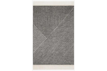 60X90 Rug-Magnolia Home Newton Charcoal/Ivory By Joanna Gaines