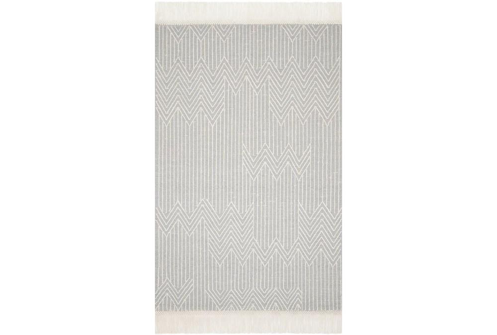 27X45 Rug-Magnolia Home Newton Lt Grey/Ivory By Joanna Gaines