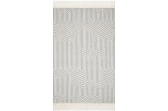"5'x7'5"" Rug-Magnolia Home Newton Lt Grey/Ivory By Joanna Gaines"