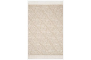 93X117 Rug-Magnolia Home Newton Sand/Ivory By Joanna Gaines