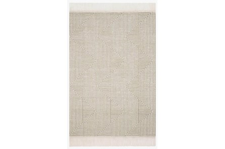 60X90 Rug-Magnolia Home Newton Sage/Ivory By Joanna Gaines