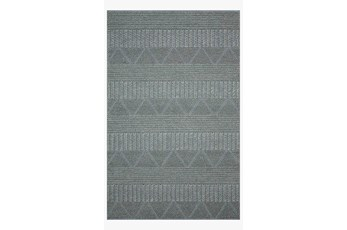 93X117 Rug-Magnolia Home Rowan Teal By Joanna Gaines