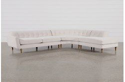Chill III 3 Piece Sectional With Right Facing Bumper Chaise