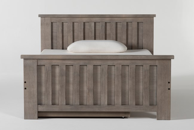Morgan Full Panel Bed With Trundle - 360