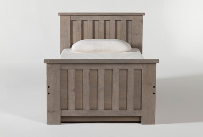 Morgan Twin Panel Bed With Trundle - 360