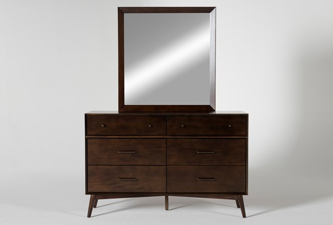 Alton Umber Dresser/Mirror - 360