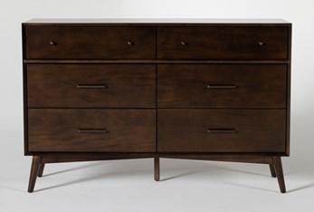 Alton Umber 6 Drawer Dresser