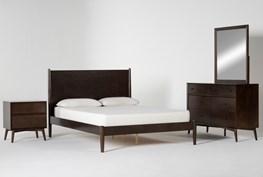 Alton Umber Eastern King 4 Piece Bedroom Set