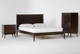 Alton Umber California King 3 Piece Bedroom Set