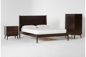 Alton Umber Queen 3 Piece Bedroom Set