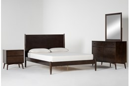 Alton Umber Queen 4 Piece Bedroom Set