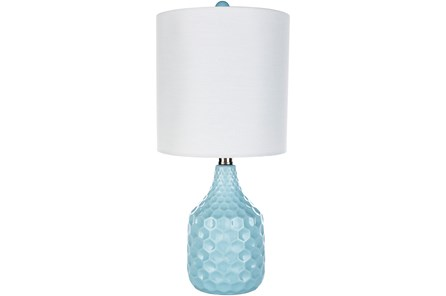 Table Lamp-Coco Ceramic Aqua