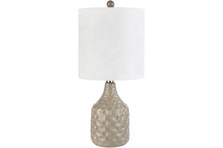 Table Lamp-Coco Ceramic Taupe