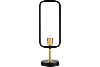 Table Lamp-Asan Antique Black