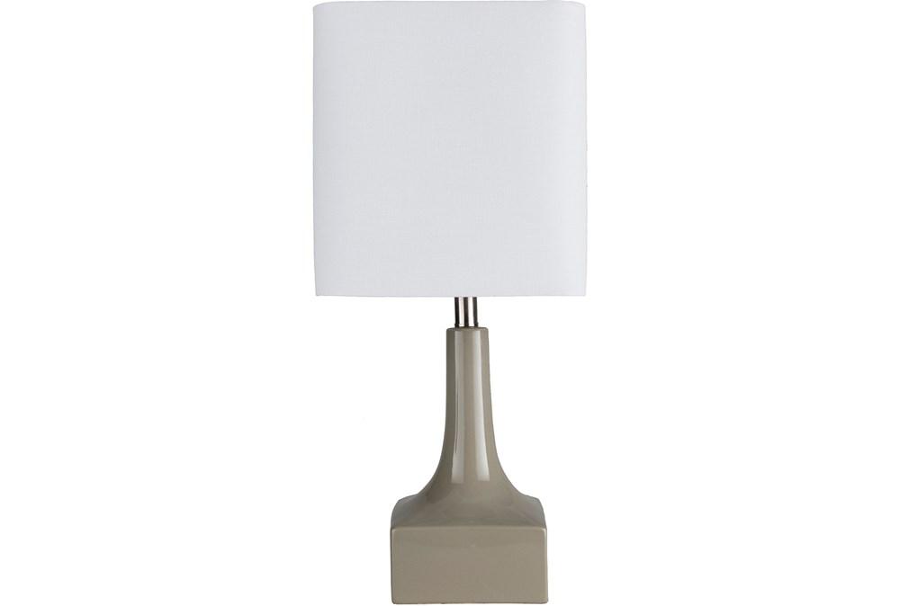 Table Lamp-Lanpara Taupe