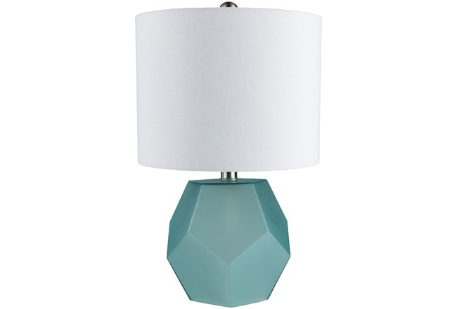 Table Lamp-Geo Sky Blue - 360