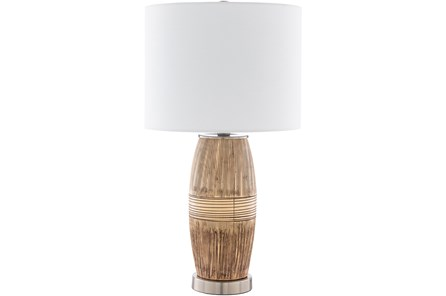 Table Lamp-Desa Wheat And Brown