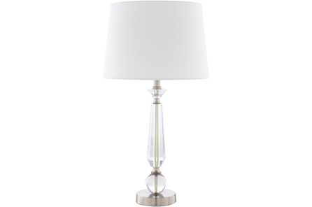 Table Lamp-Ina Brushed Crystal