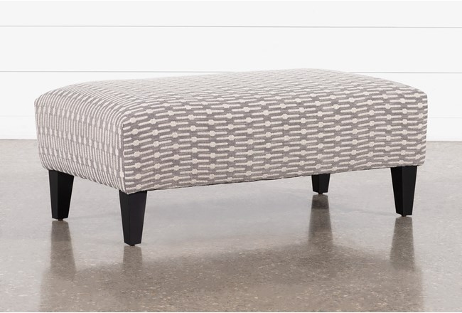 Mira Accent Cocktail Ottoman - 360