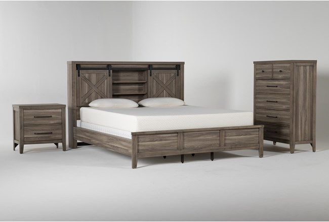 Haskell California King 3 Piece Bedroom Set - 360