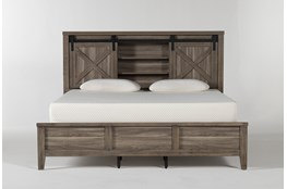 Haskell California King Panel Bed With USB