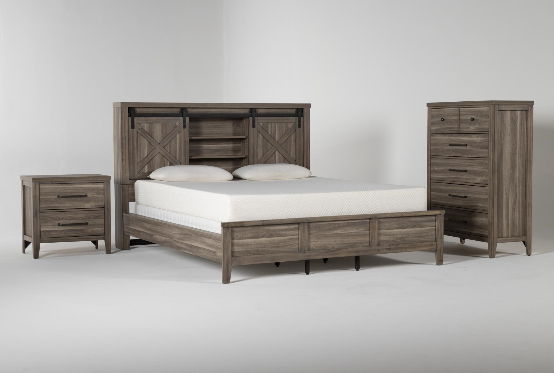 Haskell Eastern King 3 Piece Bedroom Set Living Spaces