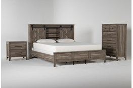 Haskell Eastern King 3 Piece Bedroom Set