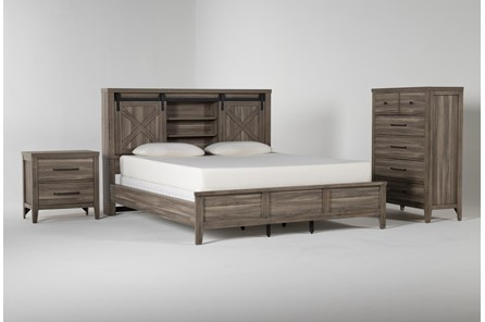 Haskell Eastern King 3 Piece Bedroom Set - Main